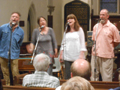 Folk Concert at St. George's Church, Shimpling, Suffol